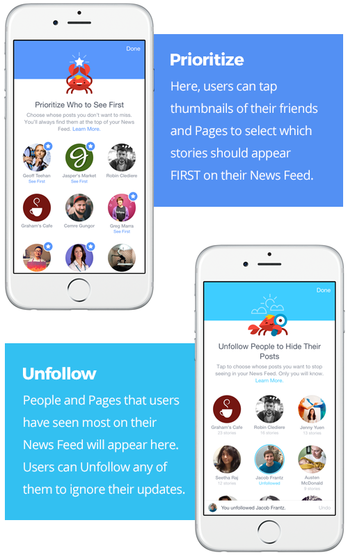 Facebook See First Unfollow and Prioritize For Auto Dealers